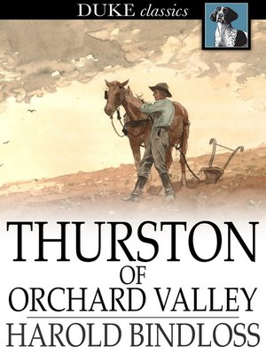 cover image of Thurston of Orchard Valley